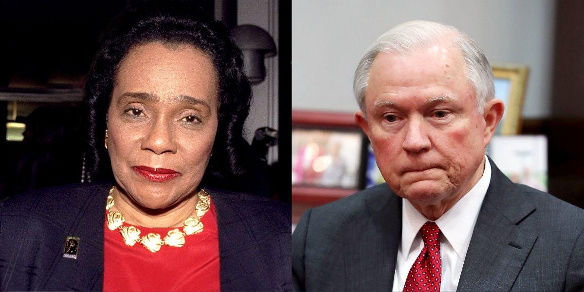 Coretta Scott King S Letter On Session